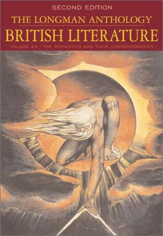 9780321105790: The Longman Anthology of British Literature, Volume 2A: The Romantics and Their Contemporaries (2nd Edition)