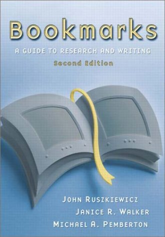 9780321105981: Bookmarks: A Guide to Research and Writing (2nd Edition)