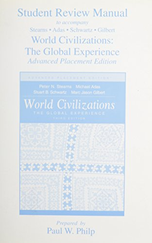9780321106483: World Civilizations: The Global Experience Research Manual