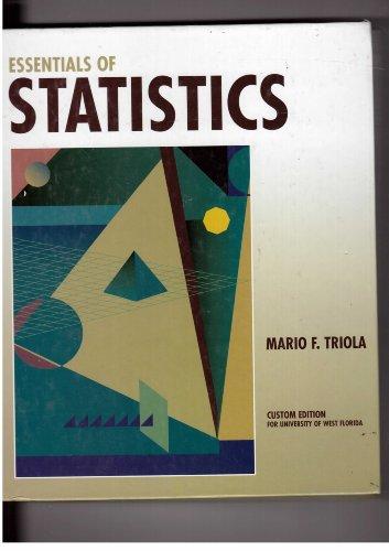 9780321106650: Essentials of Statistics