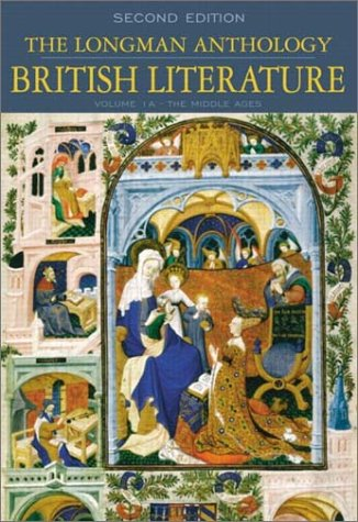 9780321106674: The Longman Anthology of British Literature, Volume 1A: The Middle Ages (2nd Edition)