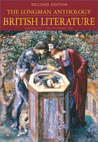 9780321106698: The Longman Anthology of British Literature, Volume 2B: The Victorian Age