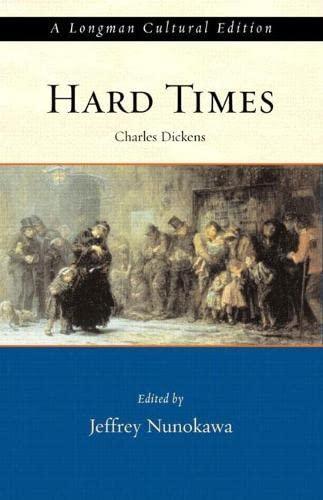 9780321107213: Hard Times, A Longman Cultural Edition