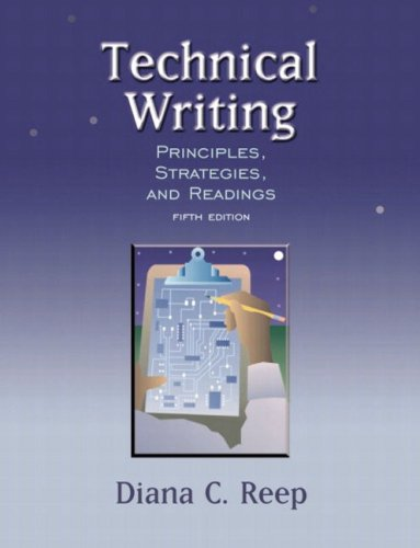 9780321107589: Technical Writing: Principles, Strategies, and Readings (5th Edition)