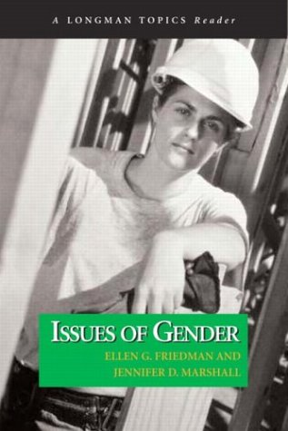 9780321108791: Issues of Gender (A Longman Topics Reader)