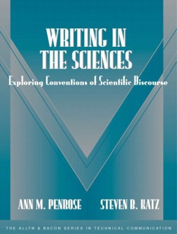 9780321112040: Writing in the Sciences: Exploring Conventions of Scientific Discourse (Part of the Allyn & Bacon Series in Technical Communication)