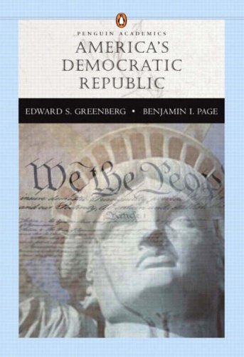 9780321112378: America's Democratic Republic (Penguin Academics)