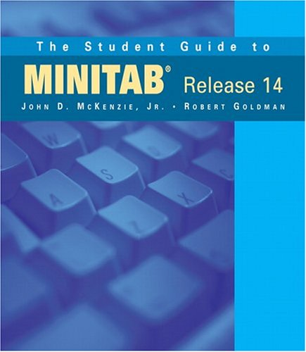 9780321113122: The Student Guide to MINITAB Release 14 (book only)