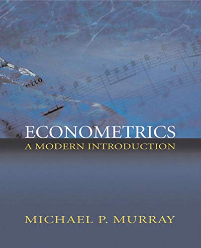 9780321113610: Econometrics: A Modern Introduction