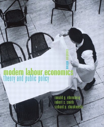 9780321115263: Modern Labour Economics: Theory and Public Policy, Canadian Edition