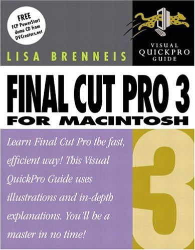 9780321115836: Final Cut Pro 3 for Macintosh: Visual QuickPro Guide