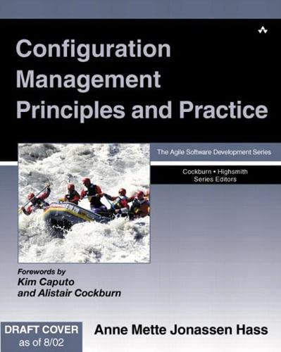 9780321117663: Configuration Management Principles and Practice
