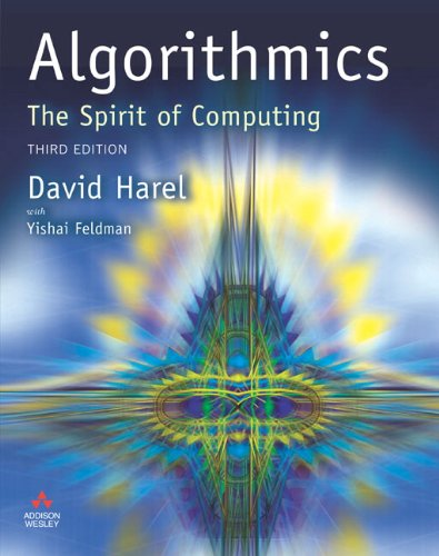 ALGORITHMICS SPIRIT OF COMPUTING: DAVID HAREL