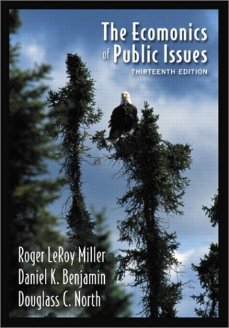 9780321118738: The Economics of Public Issues (13th Edition)