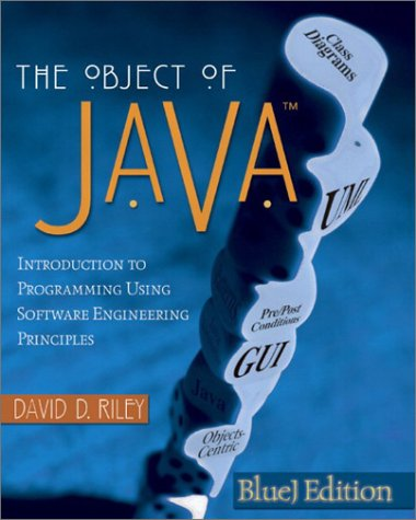 9780321121738: The Object of Java: Introduction to Programming Using Software Engineering Principles