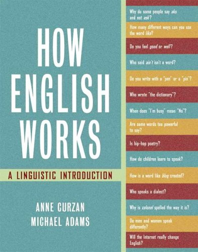 9780321121882: How English Works: A Linguistic Introduction
