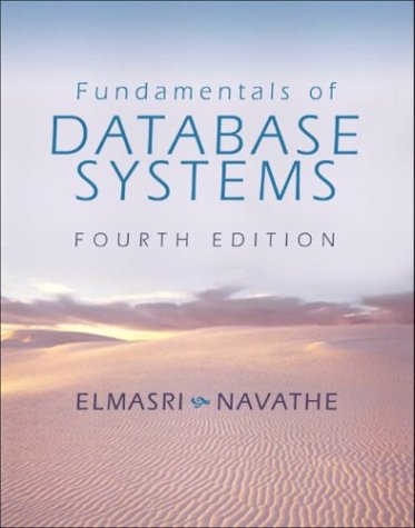 9780321122261: Fundamentals of Database Systems (4th Edition)