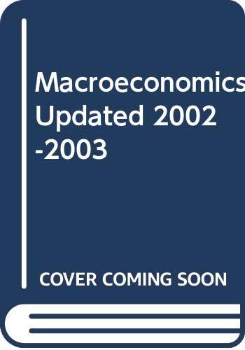 Macroeconomics: Ben S. Bernanke;