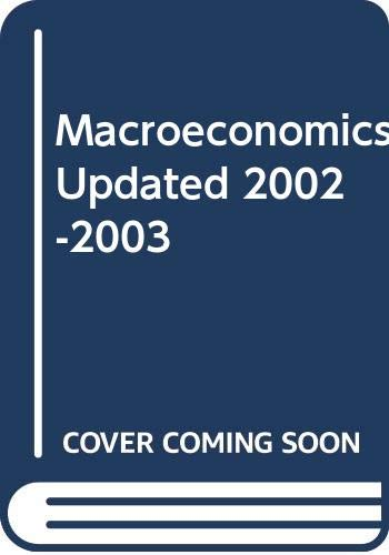 9780321122285: Macroeconomics Updated 2002-2003