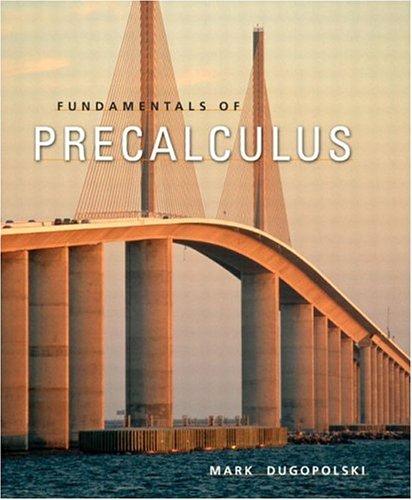 9780321122322: Fundamentals of Precalculus