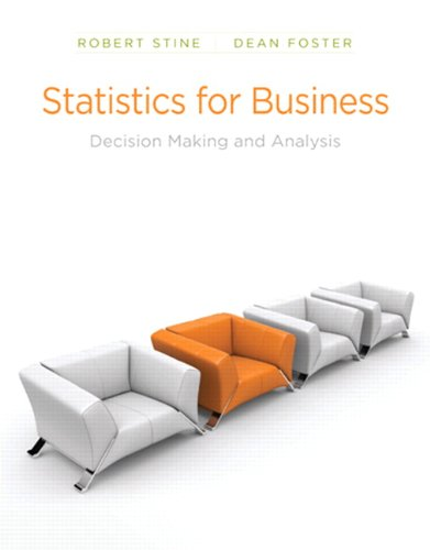 9780321123916: Statistics for Business: Decision Making and Analysis