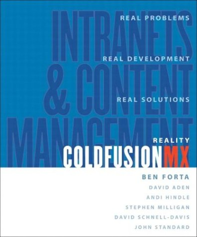 9780321124142: Reality ColdFusion: Intranets and Content Management