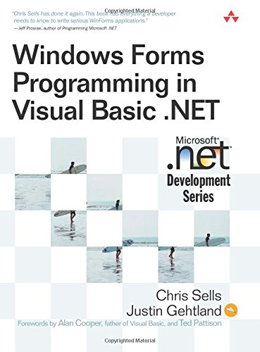Windows Forms Programming in Visual Basic .NET (0321125193) by Chris Sells; Justin Ghetland