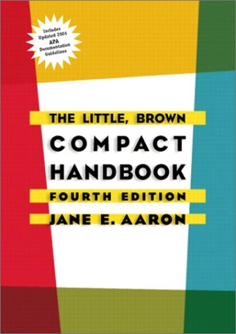 9780321125538: Little, The, Brown Compact Handbook (APA Update), with CD (4th Edition)