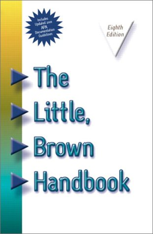 9780321125545: The Little Brown Handbook, APA Update with CD (8th Edition)
