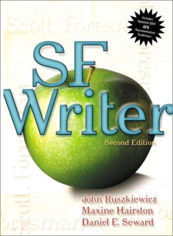 9780321125606: SF Writer (APA Update) (2nd Edition)