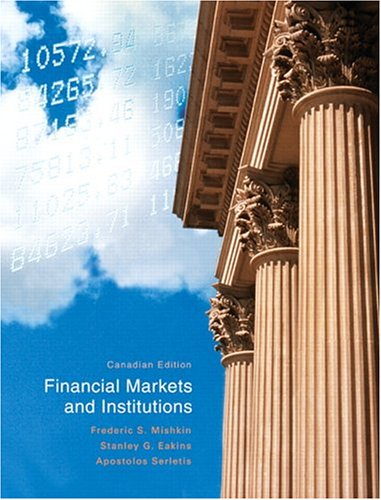 9780321126665: Financial Markets and Institutions, Canadian Edition [Paperback]