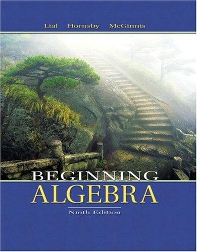 9780321127112: Beginning Algebra