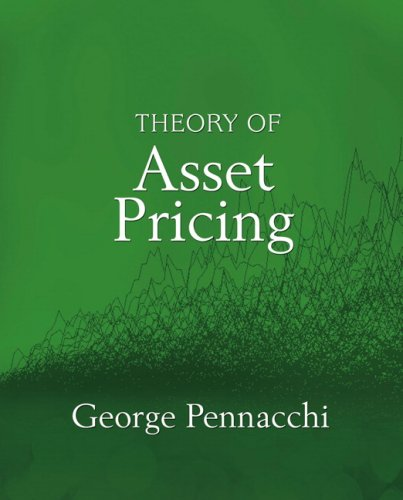 9780321127204: Theory of Asset Pricing (The Addison-wesley Series in Finance)