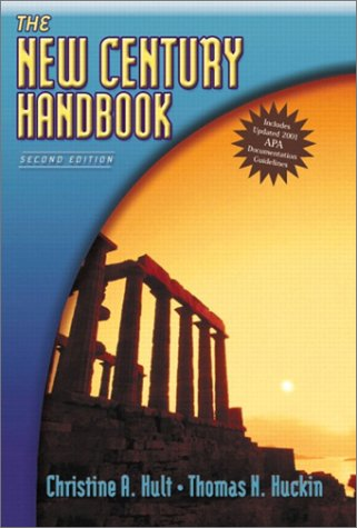 9780321127266: The New Century Handbook, APA Update (2nd Edition)
