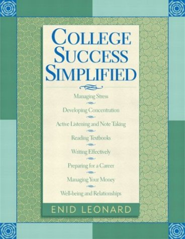 9780321127488: College Success Simplified
