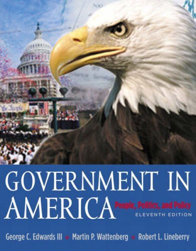 9780321129574: Government in America: People, Politics, and Policy