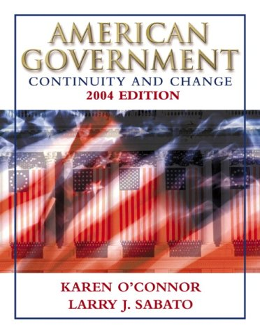 9780321129727: American Government: Continuity and Change