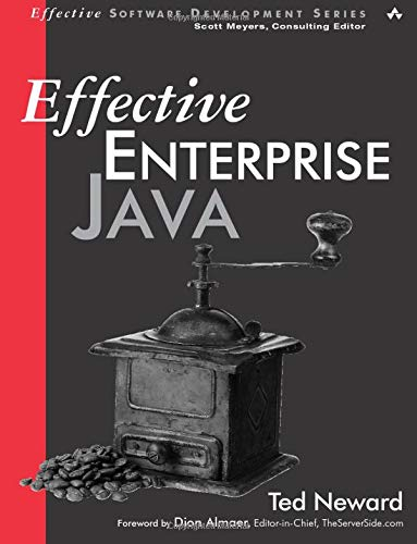 9780321130006: Effective Enterprise Java
