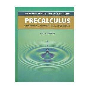 9780321131874: Precalculus Graphical, Numerical, Algebraic Teacher's Edition