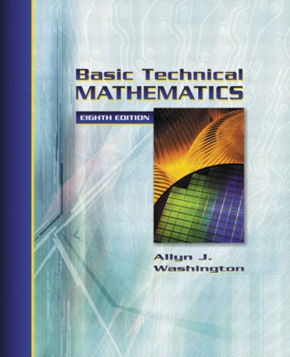 9780321131935: Basic Technical Mathematics (8th Edition)