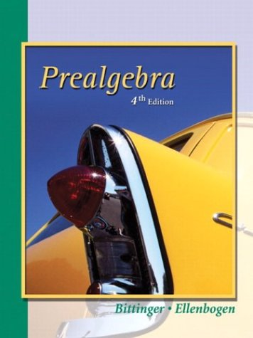 9780321132253: Prealgebra (4th Edition)