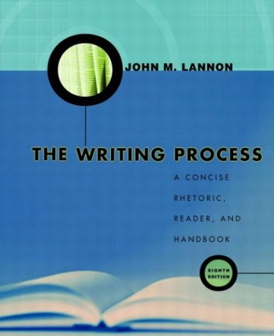 9780321133755: The Writing Process: A Concise Rhetoric, Reader and Handbook