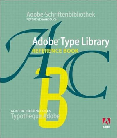 9780321136466: Adobe Type Library Reference Book