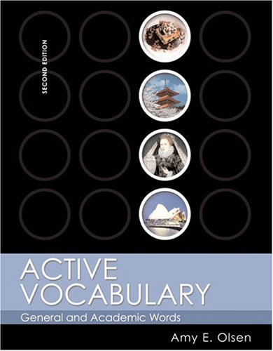 9780321142436: Active Vocabulary: General and Academic Words (2nd Edition)