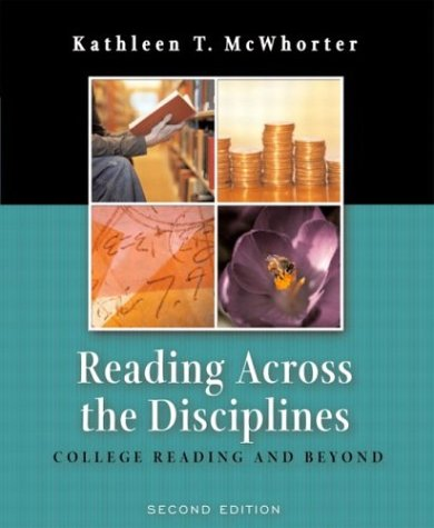 9780321142481: Reading Across the Disciplines: College Reading and Beyond, Second Edition