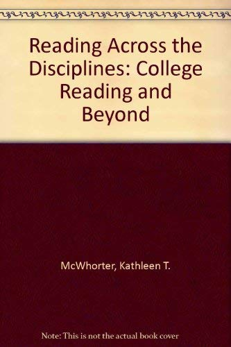 9780321142511: Reading Across the Disciplines: College Reading and Beyond