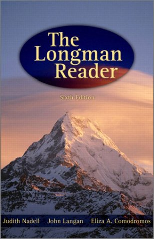 9780321142634: The Longman Reader, 6th Edition