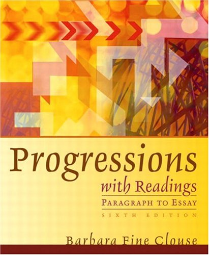 9780321145567: Progressions with Readings (6th Edition)