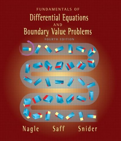 9780321145710: Fundamentals of Differential Equations and Boundary Value Problems (4th Edition)