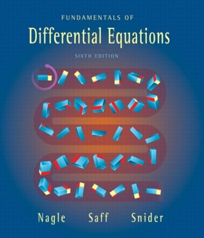 9780321145727: Fundamentals of Differential Equations (6th Edition)